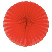My Little Day Paper Fan - Red Red