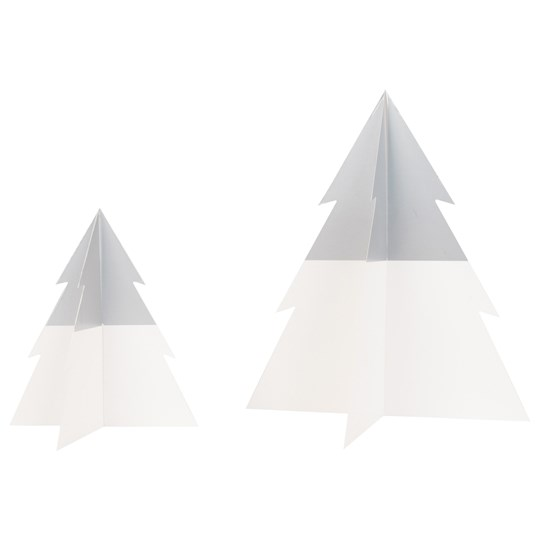 My Little Day Two-Colored Christmas Tree - Silver - Small Silver