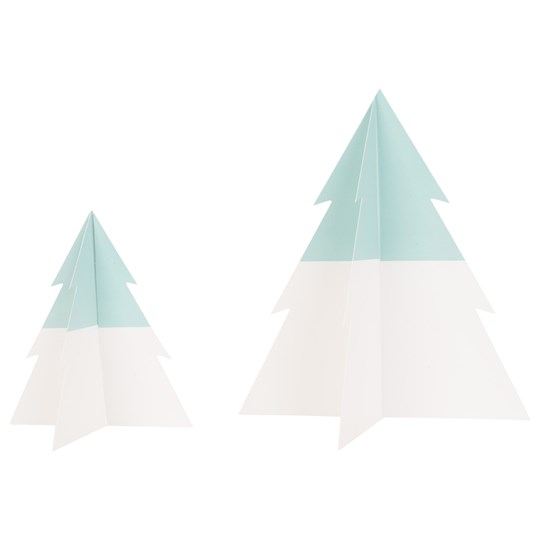 My Little Day Two-Colored Christmas Tree - Aqua - Small Aqua