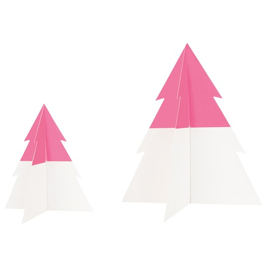 My Little Day Two-Colored Christmas Tree - Bright Pink - Small BRIGHT PINK
