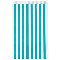 My Little Day 10 Paper Bags - Blue Stripes Blue Stripes