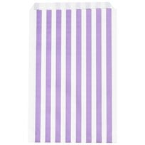 My Little Day 10 Paper Bags - Lilac Stripes lilac stripes