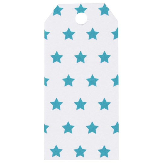 My Little Day 12 Gift Tags - Blue Stars Blue Stars