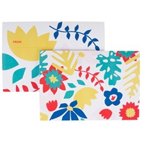 My Little Day 8 Invitations - Tropical Flowers tropical flowers