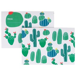 My Little Day 8 Invitations - Cactus
