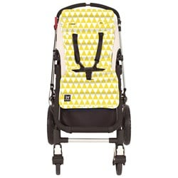 Outlook Pram Liner Triangle Yellow