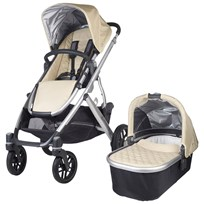 UPPAbaby VISTA Barnvagn Lindsey Wheat  Beige