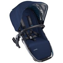 UPPAbaby VISTA RumbleSeat Taylor Indigo/Silver Blue