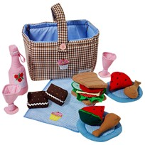 oskar&ellen Picknick Hamper Brown