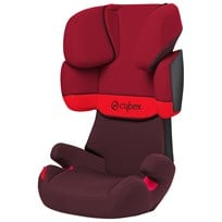 Cybex Solution X Silver Line Rumba Röd Rumba Red