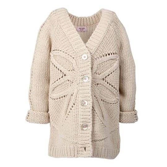 Noa Noa Miniature Cardigan Windflower Mushroom бежевый