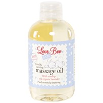 Love Boo Kind & Calming Massage Oil 100ml White