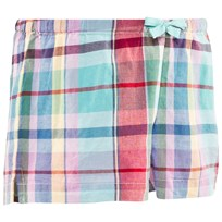 Ralph Lauren Plaid Cotton Short Mint/Blue Multi Mint/blue Multi