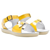 Salt-Water Sandals Surfer Premium Sandals Shiny Yellow Yellow