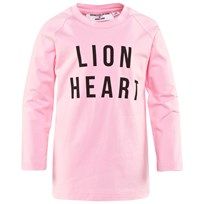 Gardner and the gang Long Sleeved Lion Heart Tee Candy Pink Candy Pink