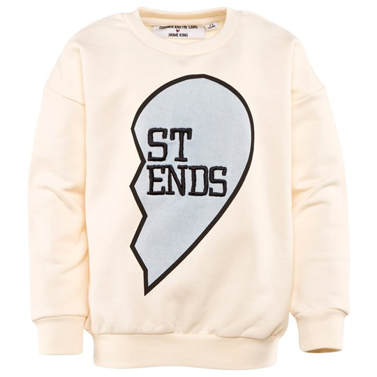 Gardner and the gang Buddy Sweat Shirt ST END Cream White Creme white