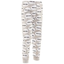 Gardner and the gang Wuv You Leggings Heather Grå Heather Grey