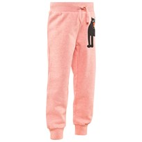 Mini Rodini Panther Sweatpants Rosamelerad Pink Mel