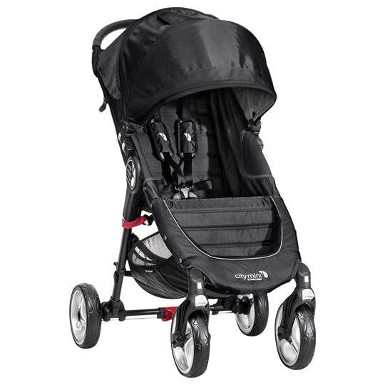 Baby Jogger City Mini 4-Wheel Black svartgrå
