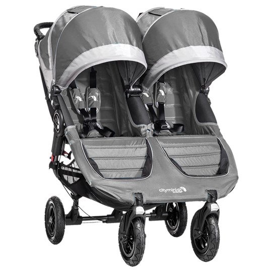 Baby Jogger City Mini GT Double Steel Grey stålgrå