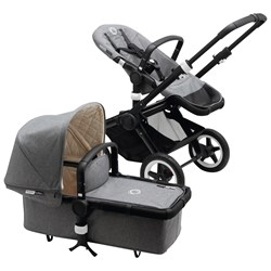 Bugaboo Buffalo Classic+ Collection complete Grey Melange