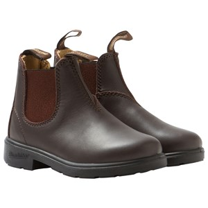 Image of Blundstone Blunnies Brown Full Grain Leather Boots 24 EU (2743689237)