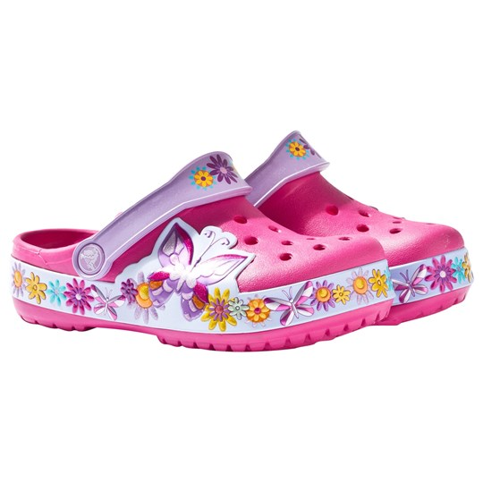 Crocs Crocband Butterfly Toffla Candy Rosa Pink