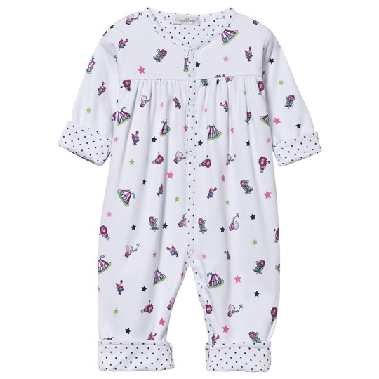 Kissy Kissy Reversible Baby One-Piece Clowning Around Pink Pink