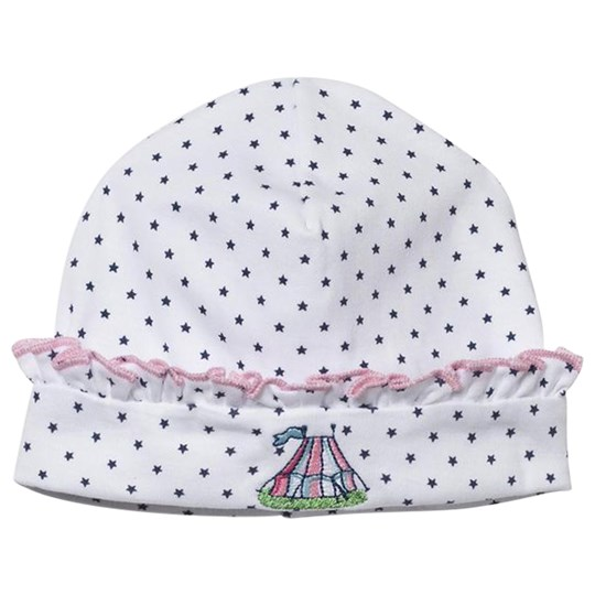 Kissy Kissy Hat Clowning Around White/Light Pink