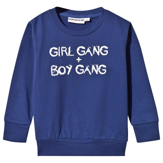 Gardner and the gang Light Girl Gang Boy Gang Sweater Navy Blue