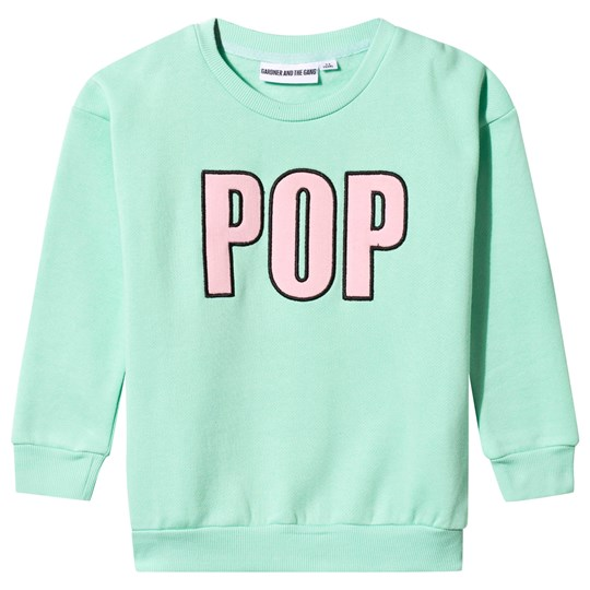 Gardner and the gang The Classic Pop Sweater Mint Mint Green