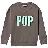 Gardner and the gang The Classic Pop Sweater Charcoal Charcoal