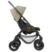 EasyWalker JUNE Stroller with Bag Sand Black / Sand