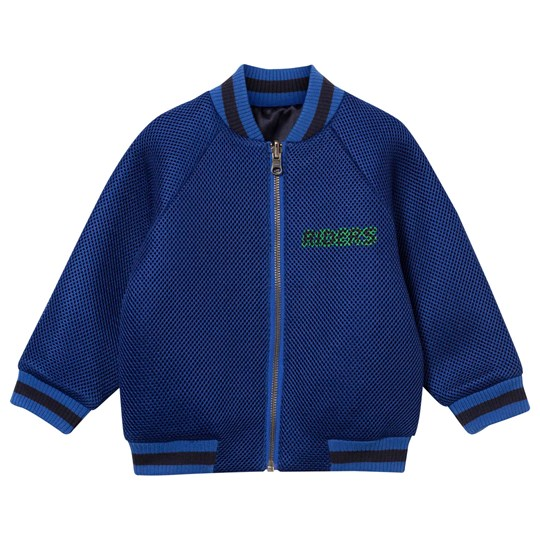 Stella McCartney Kids Willow Reversible Bomber Jacket Electric Blue Electric
