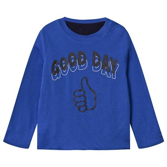 Stella McCartney Kids Coby Reversible Tee Electric Blue Electric