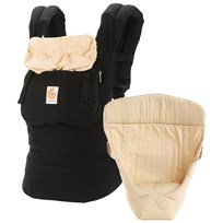 Ergobaby Original Three Position Bundle of Joy Black/Camel Black