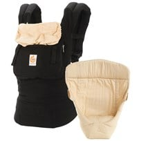 Ergobaby Original Three Position Bundle of Joy Black/Camel Sort