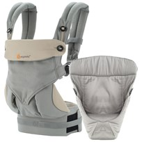 Ergobaby Four Position Bundle of Joy 360 Baby Carrier Grey Grå