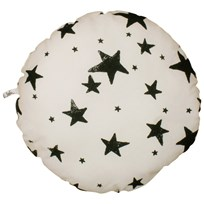 Noe & Zoe Berlin Circle Pillow Black Stars BLACK STARS