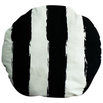 Noe & Zoe Berlin Circle Pillow Black Stripes XL black stripes XL
