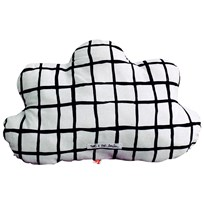 Noe & Zoe Berlin Little Cloud Pillow Black Grid black grid