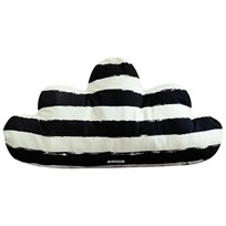 Noe & Zoe Berlin Large Cloud Pillow Black Stripes XL black stripes XL