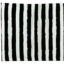 Noe & Zoe Berlin Playmat Square Black Stripes XL black stripes XL
