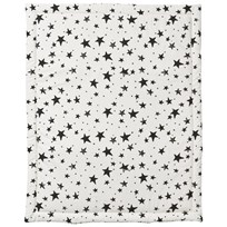 Noe & Zoe Berlin Playmat Retangle Black Stars & Stripes black stars & stripes
