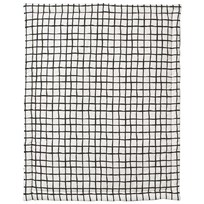 Noe & Zoe Berlin Playmat Retangle Black Grid black grid