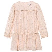 Chloé Dress with Gold Dots Rose Pale Rose Pale