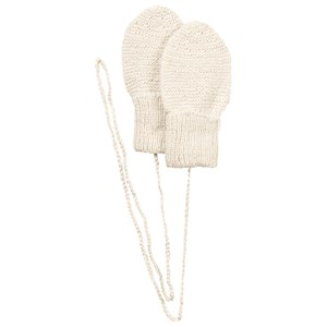 Image of Huttelihut Mittens Off White 3-6 mdr (427234)
