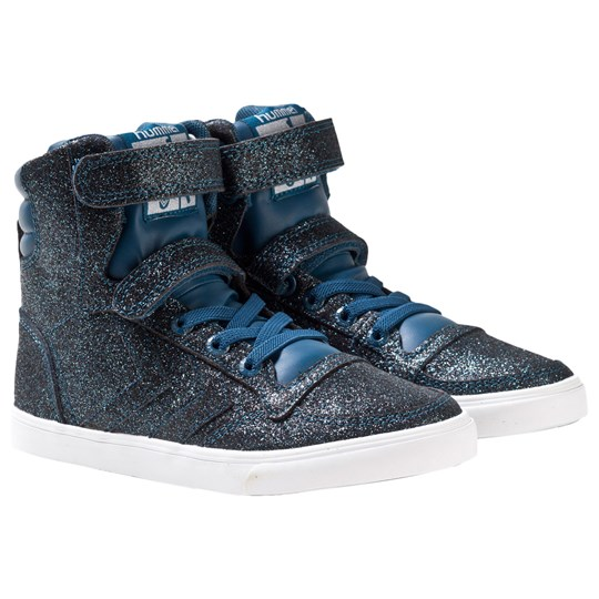 Hummel Slimmer Stadil Glitter Sneakers Moroccan Blue Moroccan Blue