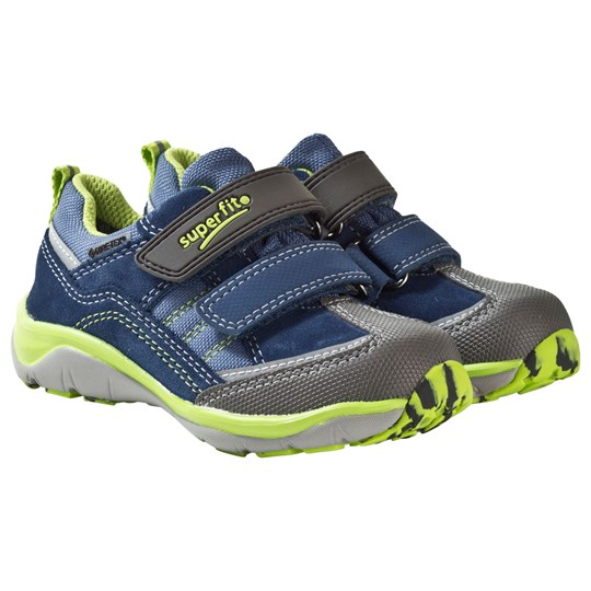 Superfit Sport5 Low GORE-TEX® Watermulti Blå/grön