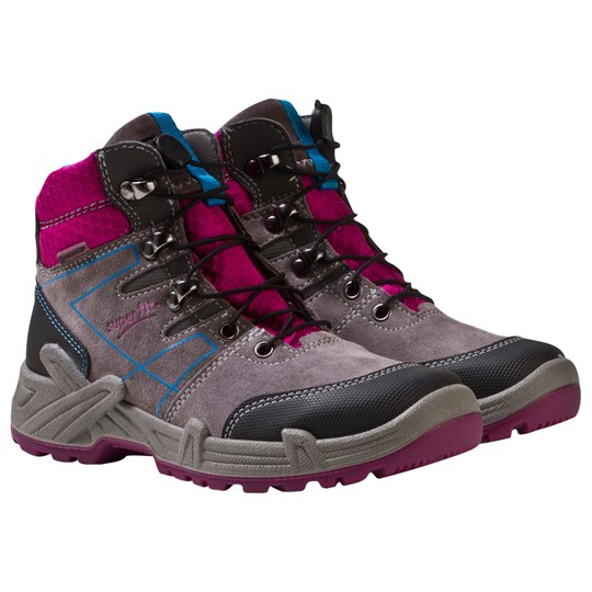 Superfit Canyon Gore-Tex® Boots Stone Combi Grå/rosa